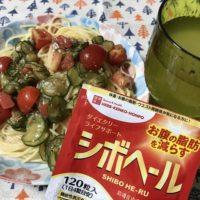 0723-トマトとキュウリの冷製パスタ